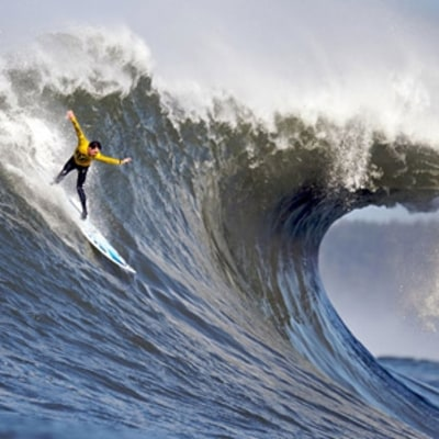 Gerard Butler's Mavericks Wipeout
