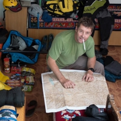 Gerry Moffatt Sets Off on a Journey Across the Himalayas