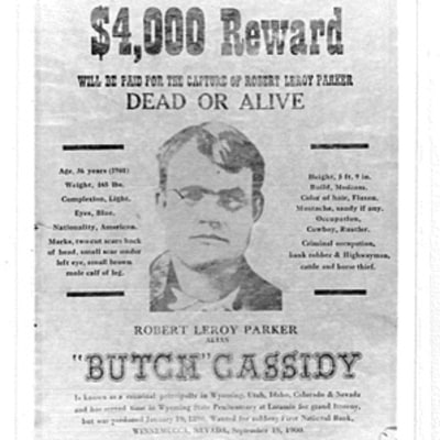 Traveling Along Butch Cassidy's Outlaw Trail