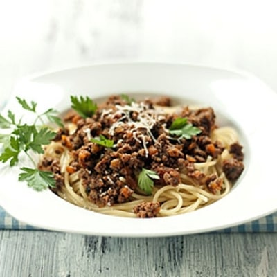 A Richer, More-Flavorful Meat Sauce for Your Spaghetti