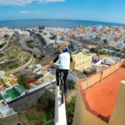 Danny MacAskill's Rooftop-Hopping Stunt Video Will Give You Vertigo