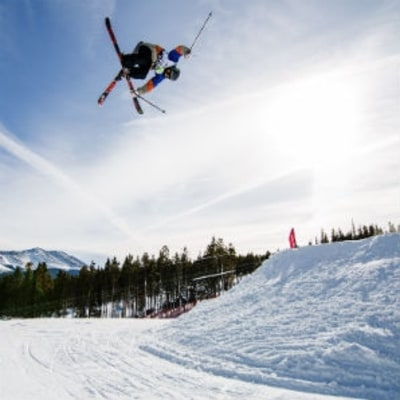 A World-Champion Freestyle Skier's Insane Circuit Workout