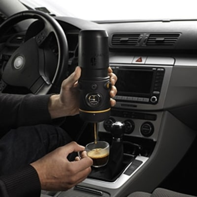The In-Car Espresso Maker