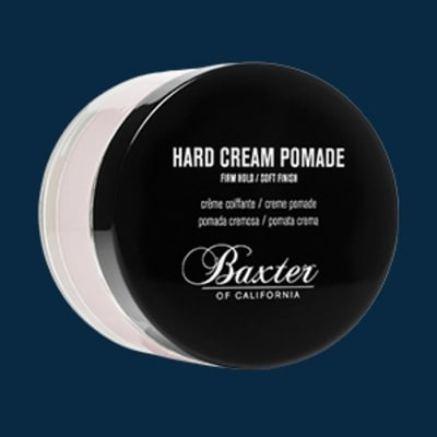 Baxter of California Hard Cream Pomade: Grooming Gift Guide