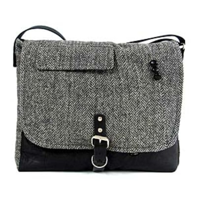 Harris Tweed Jackets Reincarnated as Bags