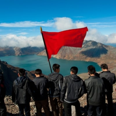 Hiking North Korea's Sacred Volcano