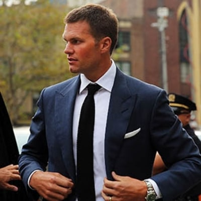 Following Suit: Tom Brady Shows How to Dress for Court