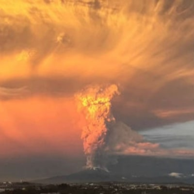 Watch a Gorgeous Time-Lapse of Chile's Volcanic Eruption