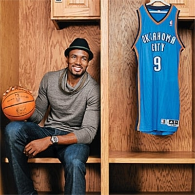 In This Issue: Serge Ibaka's Hoop Dreams