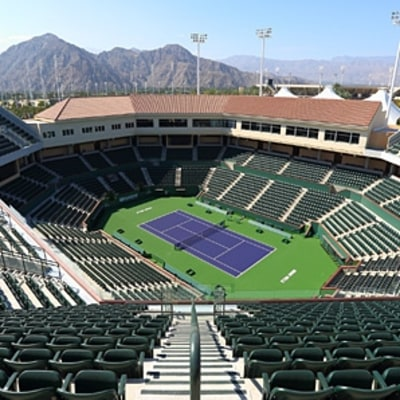 Indian Wells Gets a Massive New Tennis Stadium