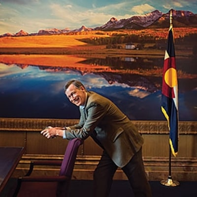 Governor John Hickenlooper: The Man in the Middle