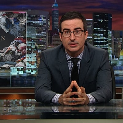 John Oliver Will Make You Care Where Your Clothes Come From