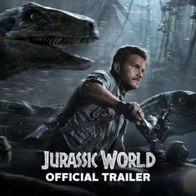 Jurassic World Trailer Reveals Mega T-Rex, Explosions, Chris Pratt-Trained Velociraptors