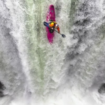 Watch Pro Kayakers Run Mexico's Biggest Waterfalls