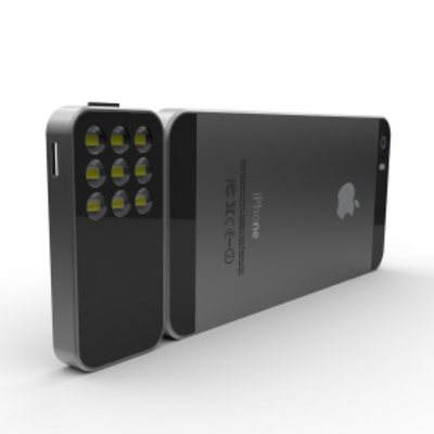 The Pocket-Sized LED Flash for Your iPhone