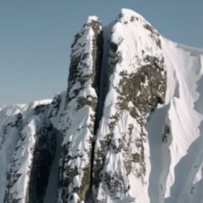 'Line of the Year': Watch a Freeskier Rip Down an Insane Couloir