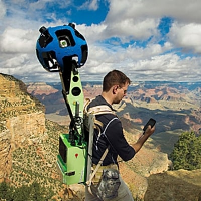 Mapping the Remote World with Google Trekker