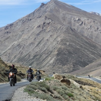 Motorcycle India's High Himalaya