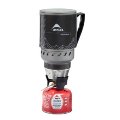 The Wind-Beating Camping Stove