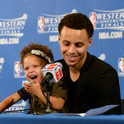Like Her MVP Dad, Riley Curry Can't Miss