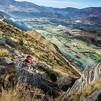 New Zealand's Never-Ending Mountain Bike Trail