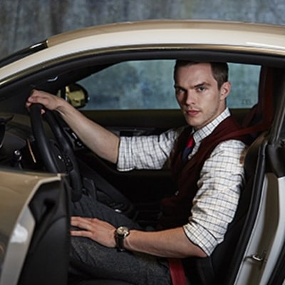 Behind the Wheel with Nicholas Hoult