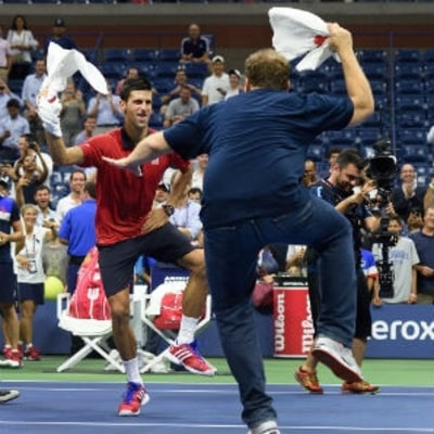 Novak Djokovic's Victory Dance Is Why We Love the US Open