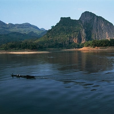 A Cruise Up the Laotian River