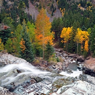 Colorado's Colorful Chutes