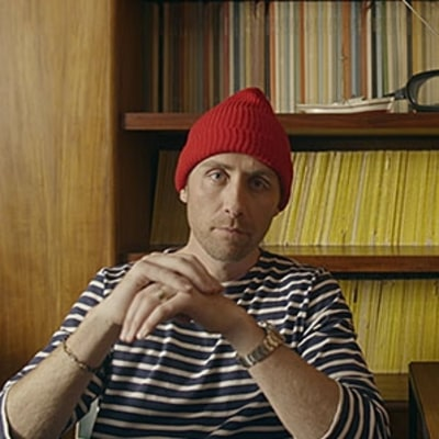 Philippe Cousteau Puts on His Red Cap, Mimics Octopus