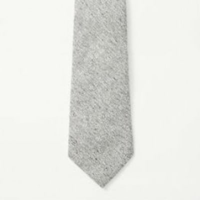 Rag & Bone Flecked Heather Grey Tie: The Best Spring Ties