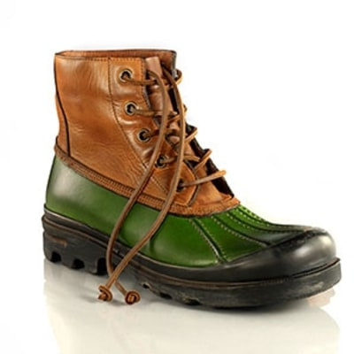 Ralph Lauren Ravensworth Vachetta Boot: The Weather Beaters