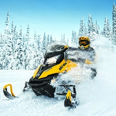 An All-in-One Snowmobile