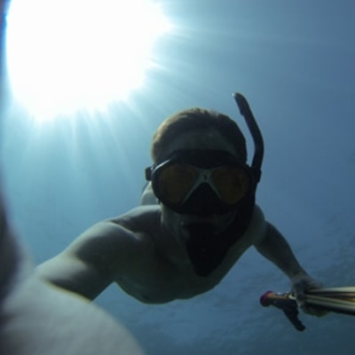 How Ryan Hunter-Reay's Free Diving Gives Him the Edge