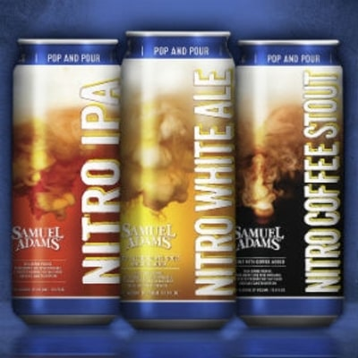 Sam Adams' Brilliant New Nitro Cans