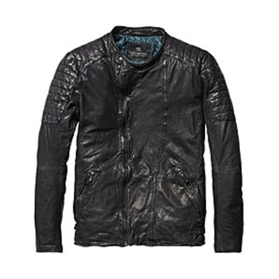 Scotch & Soda Biker Jacket: Best Leather Jackets