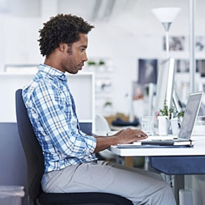 Sit Up Straight, Stress Less at Work