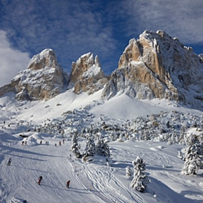 Skiing the Alps, Italian-style