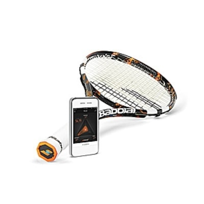 The Tennis Racquet that Records Your Every Stroke