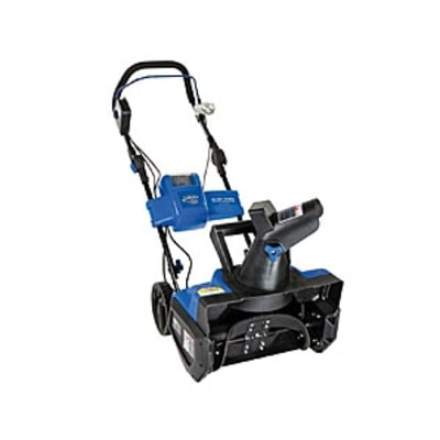 Snow Joe Ion Cordless Snow Blower: Snow Cleanup Tools
