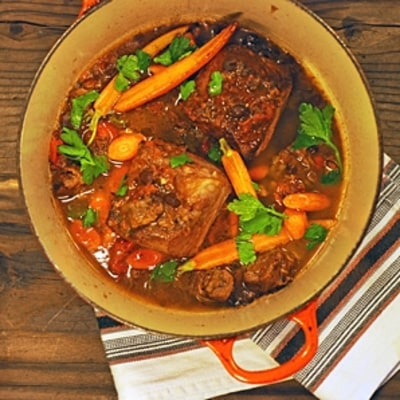 Stuart O'Keeffe's Irish Beef Stew with Guinness