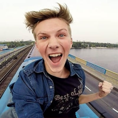 Stupid, Dangerous, and Impressive: Teen Daredevil Rides On Top a Speeding Train