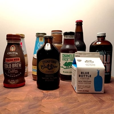 Taste Test: The Best Bottled Iced Coffee