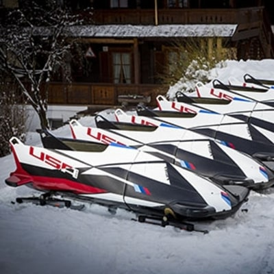 Team USA Bets on BMW with Bobsled