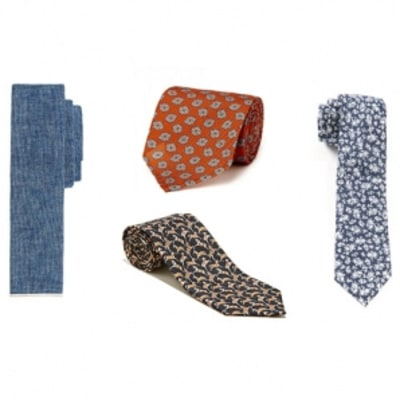 The Best Ties to Wear This Spring