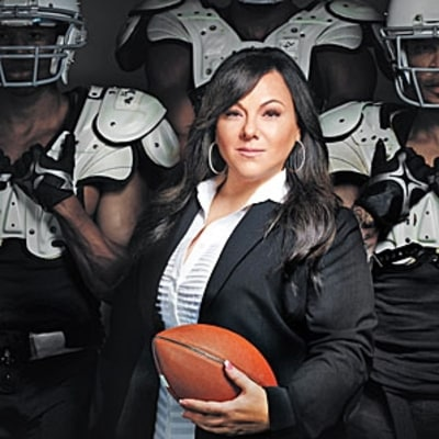 The Woman Who Bails Out the NFL's Bad Boys