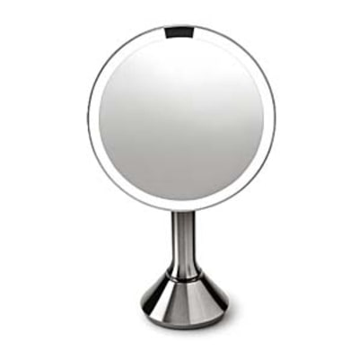 An Illuminated Mirror for Close Shaves