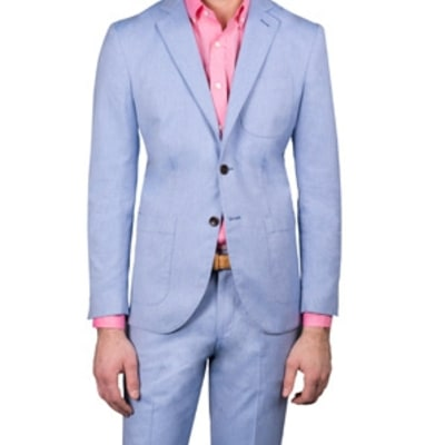 The Machine-Washable Summer Suit