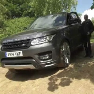 The New Smartphone-Controlled Range Rover Is a Real-Life James Bond Car