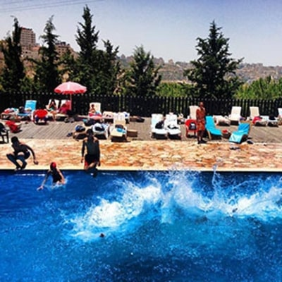 The Palestinian Pool Party